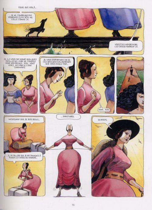 Ida T2 : Candeur et abomination (0), bd chez Delcourt de Cruchaudet