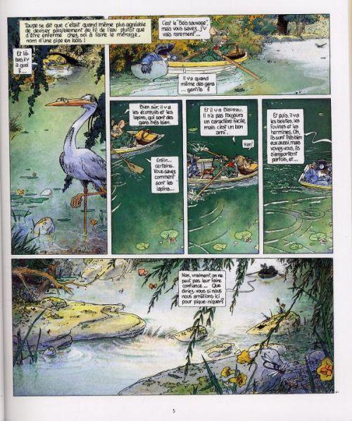 Le vent dans les saules T1 : Le Bois sauvage (0), bd chez Delcourt de Plessix