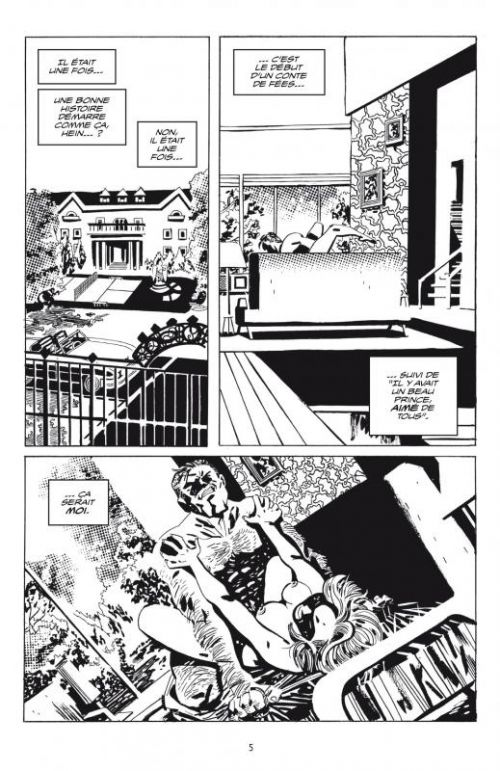 Sale fric, comics chez Delcourt de Azzarello, Santos