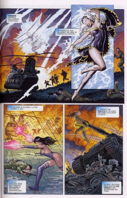 X-Men - Jeunes filles en fuite, comics chez Panini Comics de Claremont, Manara
