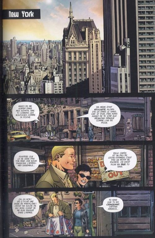 Ultimates T1 : Super-soldat (0), comics chez Panini Comics de Millar, Hitch, Mounts