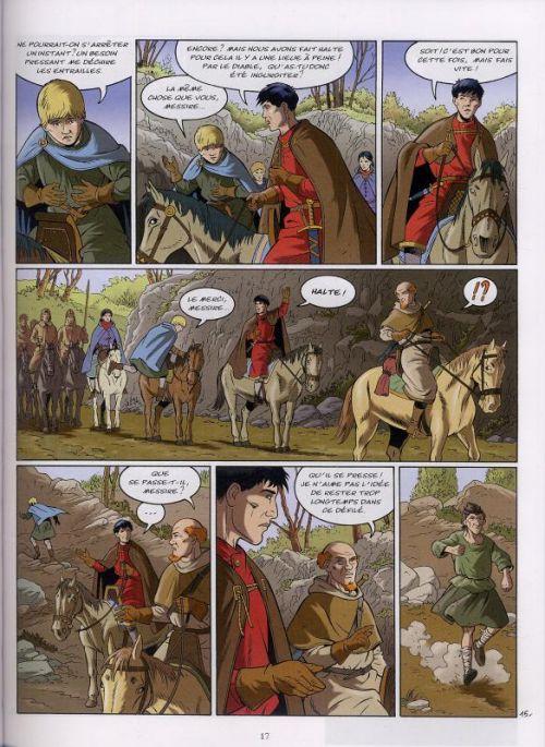 Les aigles décapitées T23 : La dernière croisade (0), bd chez Glénat de Pierret, Pierret