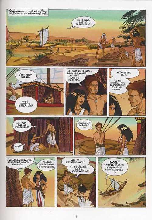 Sur les terres d'Horus T2 : Meresankh ou le choix de Seth (0), bd chez Delcourt de Dethan