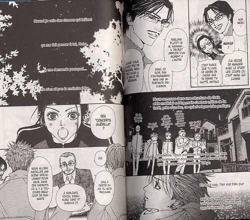 Nana T10, manga chez Delcourt de Yazawa