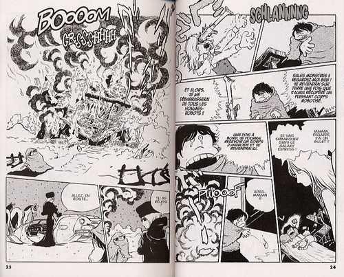 Galaxy Express 999 T1, manga chez Kana de Matsumoto