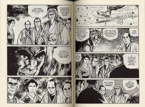 Lone Wolf & Cub T6 : Esprits au fil de l'eau (0), manga chez Panini Comics de Koike, Kojima