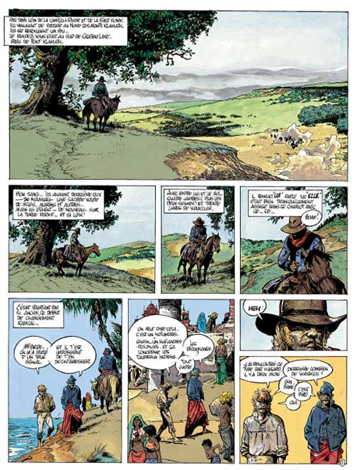 Lester Cockney T8 : Oregon trail (0), bd chez Le Lombard de Franz