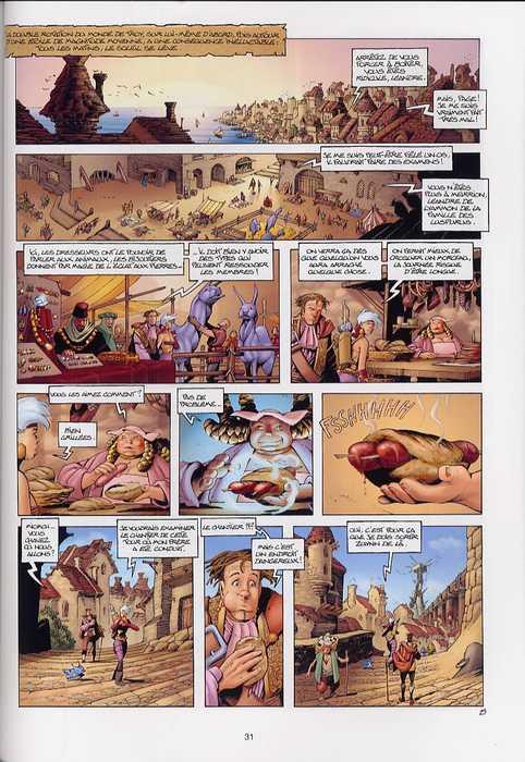 Les conquérants de Troy T1 : Exil à Port Fleuri (0), bd chez Soleil de Arleston, Tota, Lamirand