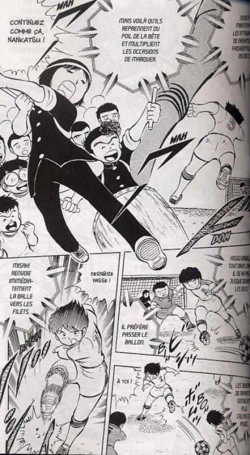 Captain Tsubasa T4, manga chez Glénat de Takahashi