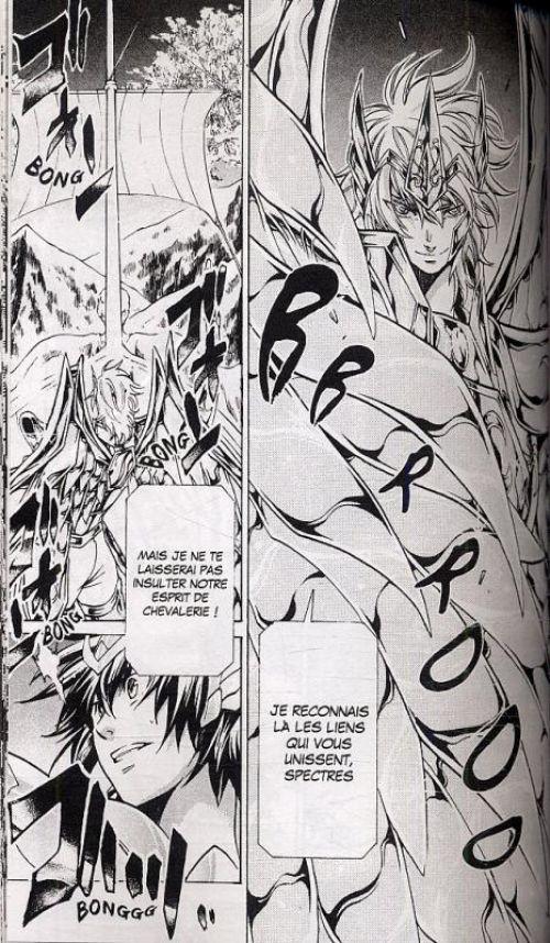 Saint Seiya - The lost canvas  T15, manga chez Kurokawa de Teshirogi, Kurumada