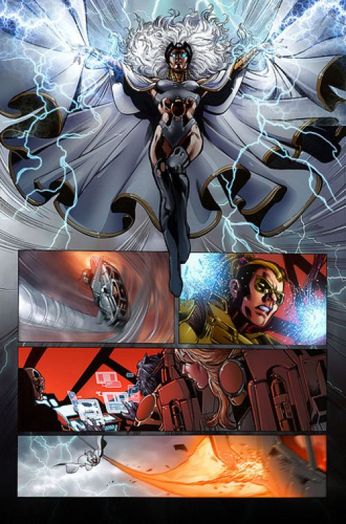 Astonishing X-Men T64 : Exogénétique (0), comics chez Panini Comics de Kyle, Liu, Way, Ellis, Choi, Camuncoli, Jimenez, d' Armata, Oback, Gracia