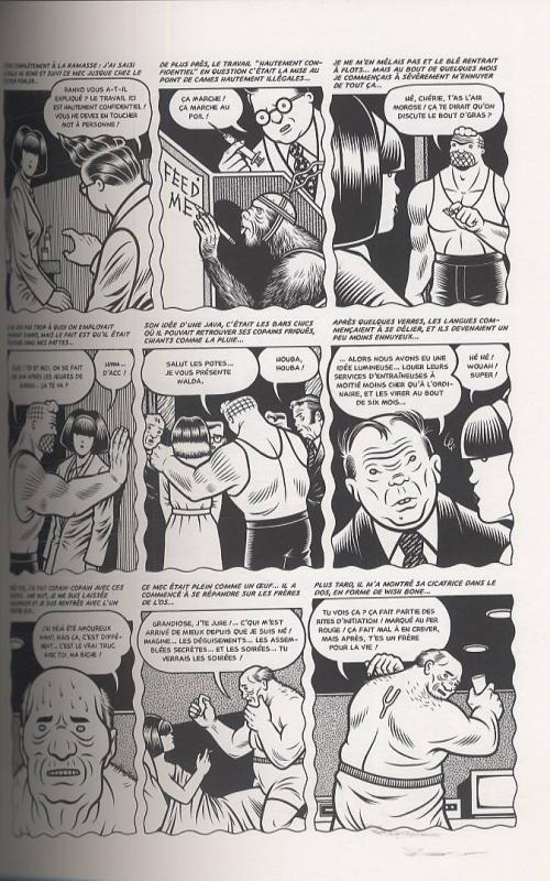El Borbah, comics chez Cornelius de Burns
