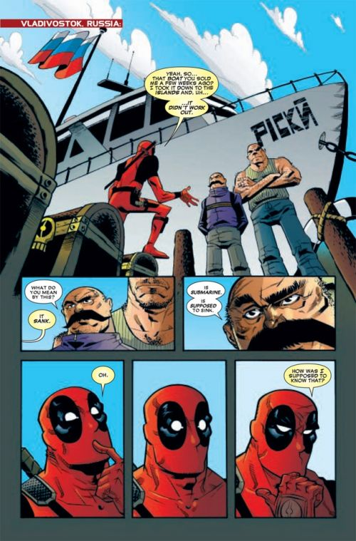 Deadpool (revue) – V 2, T1 : Vague de mutilation (0), comics chez Panini Comics de Way, Crystal, Loughridge, Pearson