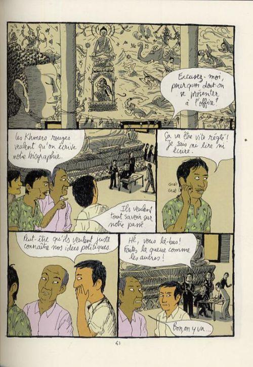 L'Année du lièvre T1 : Au revoir Phnom Penh (0), bd chez Gallimard de Tian