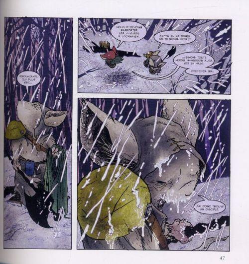 Légendes de la garde T2 : Hiver 1152 (0), comics chez Gallimard de Petersen