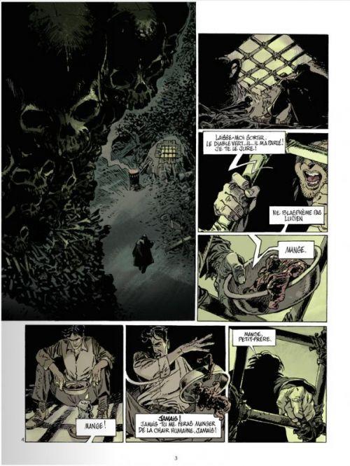 Catacombes T2 : L'ogre, le zazou, la résistance (0), bd chez Glénat de Manini, Chevereau