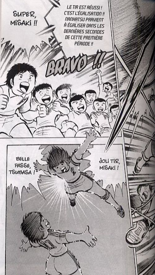 Captain Tsubasa T5, manga chez Glénat de Takahashi