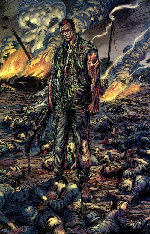 The Punisher – Max Comics, T1 : Born (0), comics chez Panini Comics de Ennis, Robertson, Mounts, Walkuski