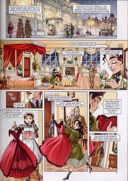Princesse Sara – cycle 1, T3 : Mystérieuses héritières (0), bd chez Soleil de Alwett, Moretti, Boccato
