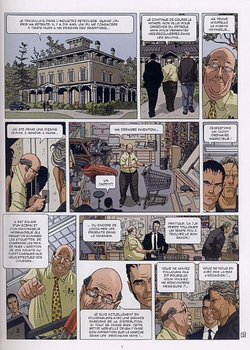 Secrets bancaires USA – cycle 1, T2 : Norman brothers (0), bd chez Glénat de Richelle, Hé, Dupeyrat, Lambin
