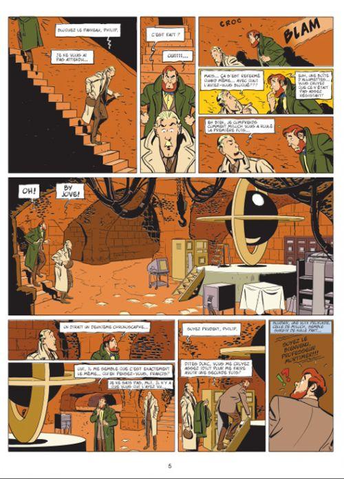 Les aventures de Philip et Francis T2 : Le piège machiavélique (0), bd chez Dargaud de Veys, Barral, de La Fuente