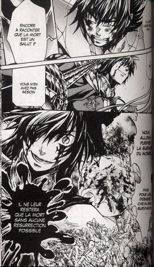 Saint Seiya - The lost canvas  T16, manga chez Kurokawa de Teshirogi, Kurumada
