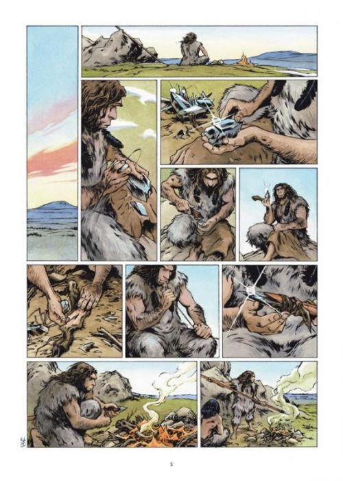 Neandertal T3 : Le Meneur de meute (0), bd chez Delcourt de Roudier