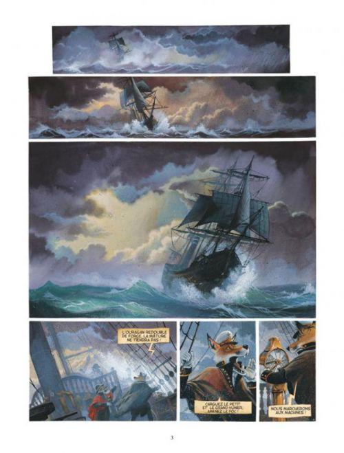 Les enfants du Capitaine Grant, de Jules Verne T2, bd chez Delcourt de Nesme