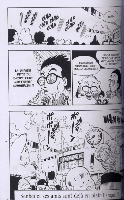 Dr Slump – Ultimate edition, T8, manga chez Glénat de Toriyama