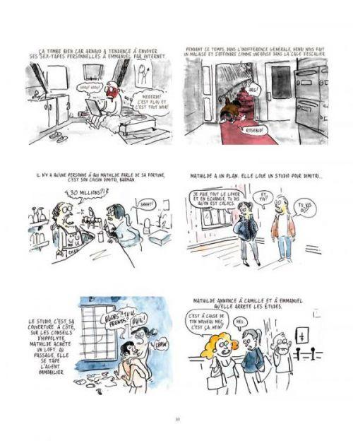 Les Autres Gens T2, bd chez Dupuis de Cadène, Scoffoni, Collectif, La Grenouille Noire, Vivès, Allart, Tanxxx, Cruchaudet, Surcouf, Montaigne