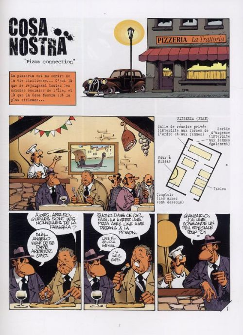Cosa Nostra T3 : Pizza connection (0), bd chez Le Lombard de Clarke, Cerise