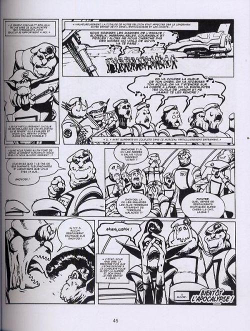Les introuvables d'Alan Moore : D.R. et Quinch : Délinquants cosmiques (1), comics chez Soleil de Delano, Davis, Moore