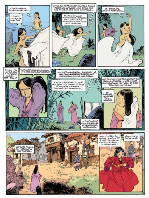 Voyage aux ombres, bd chez Soleil de Alwett, Arleston, Augustin, Guillo