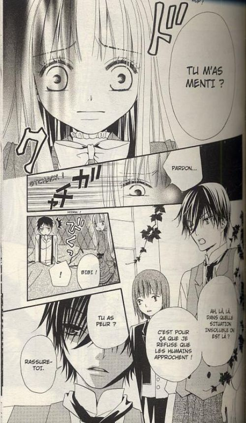 La fleur du démon T4, manga chez Panini Comics de