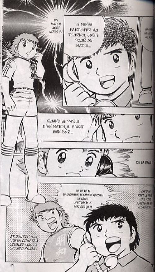 Captain Tsubasa T6, manga chez Glénat de Takahashi