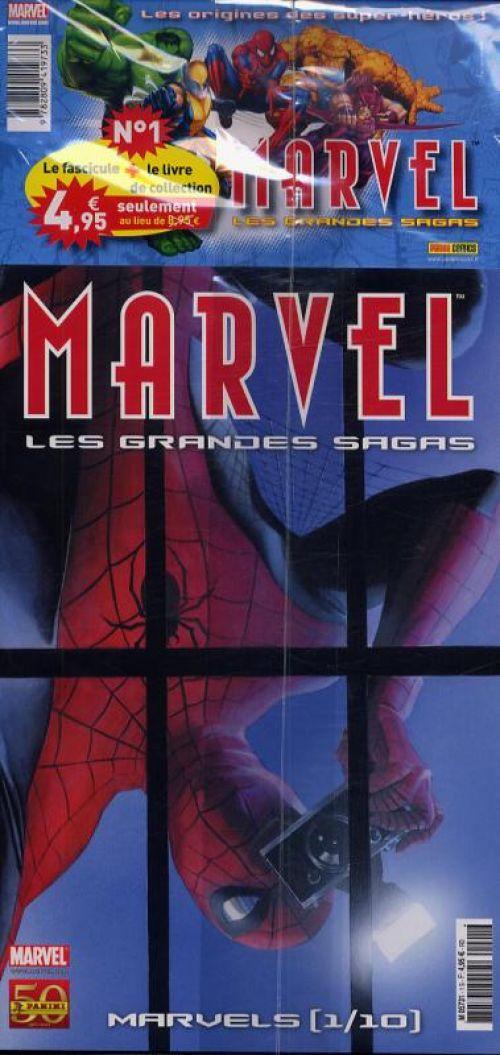 Marvel : Les grandes sagas T1 : Spider-Man - Marvels (1/10) (0), comics chez Panini Comics de Busiek, Straczynski, Waid, Gale, Ross, Romita Jr, Romita Sr, Doran, Alberti, Milla, Villarubia, Kemp, Avalon studios