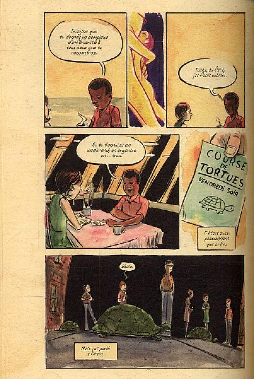 L'Histoire secrète du géant, comics chez Futuropolis de Kindt