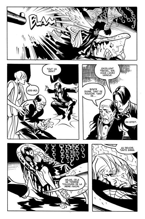 Courtney Crumrin – Hors série, T2 : La Ligue des gentlemen ordinaires (0), comics chez Akileos de Naifeh