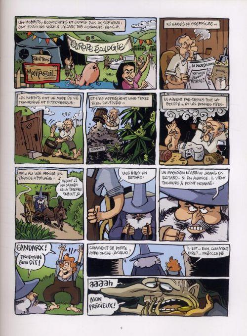 Le Seigneur des gauchos, bd chez 12 bis de Soulcié, Lebeau