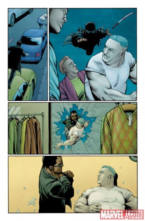 Ultimate Avengers T7 : Blade vs the Avengers (0), comics chez Panini Comics de Millar, Dillon, Hollingsworth, Yu