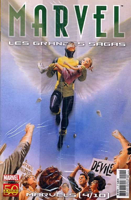 Marvel : Les grandes sagas T4 : X-Men - Marvels (4/10) (0), comics chez Panini Comics de Brubaker, Hairsine, Staples, Adams