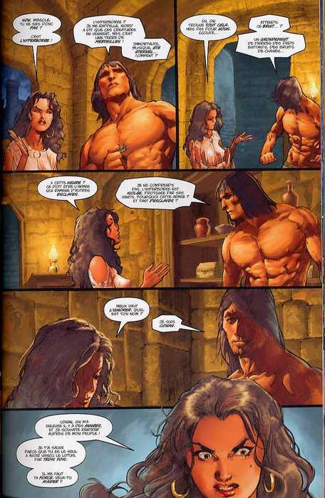 Les nouvelles aventures de Conan T2 : Dead and Street (0), comics chez Soleil de Nord, Busiek, Yeates, Stewart