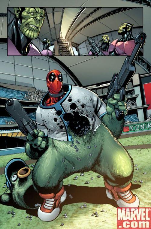 Secret Invasion – Hors série, T3 : Deadpool (0), comics chez Panini Comics de Way, Medina, Gracia, Crain