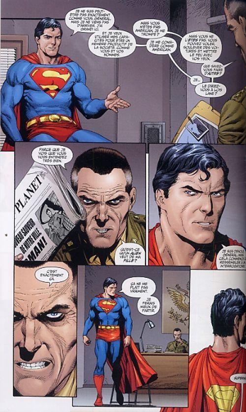 Superman - Origines secrètes T2, comics chez Panini Comics de Johns, Frank, Anderson