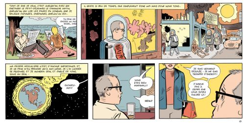 Mr Wonderful, comics chez Cornelius de Clowes