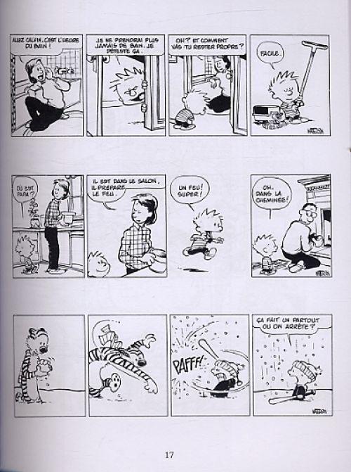 Calvin et Hobbes – Petit format, T11 : Chou bi dou wouah ! (0), comics chez Hors Collection de Watterson