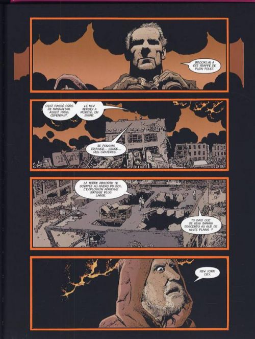 The Punisher - La fin, comics chez Panini Comics de Ennis, Corben, Loughridge