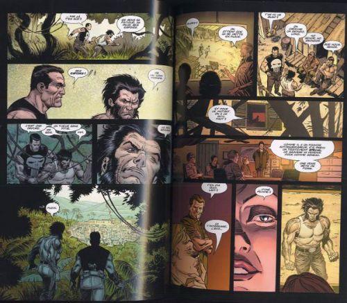 Wolverine / The Punisher T2 : Le sanctuaire du mal (0), comics chez Panini Comics de Milligan, Weeks, White, Frank