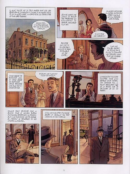 Sherman – cycle 1, T3 : La passion. Lana (0), bd chez Le Lombard de Desberg, Griffo, Burgazzoli, Bautista
