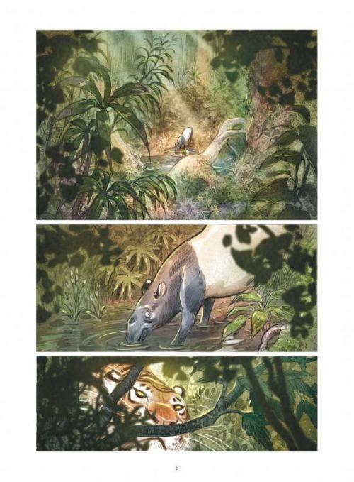 Love T1 : Le tigre (0), bd chez Vents d'Ouest de Brrémaud, Bertolucci